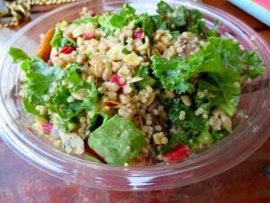 Postal: Ensalada con quinoa