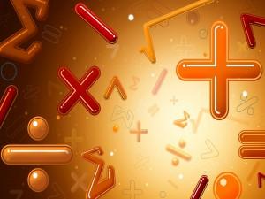 Postal: Los símbolos matemáticos