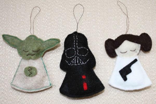 Original decoración de Star Wars para Navidad
