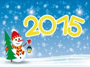 Postal: Comienza un Nuevo Año ¡Feliz 2015!
