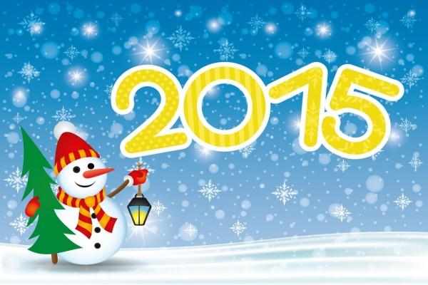 Comienza un Nuevo Año ¡Feliz 2015!