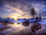 Amanecer en invierno