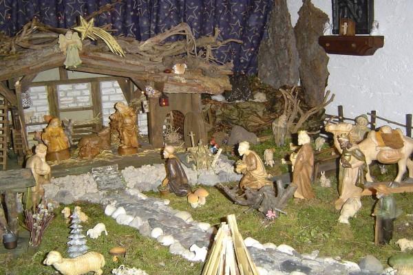 Una escena de la Natividad