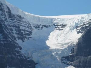 Postal: Glaciar en la montaña
