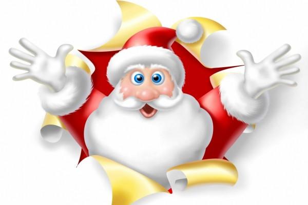 Un agradable Papá Noel