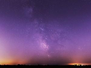 Postal: La Vía Láctea vista desde Bahía de Fronteras