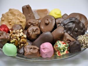 Bombones de varios sabores y colores