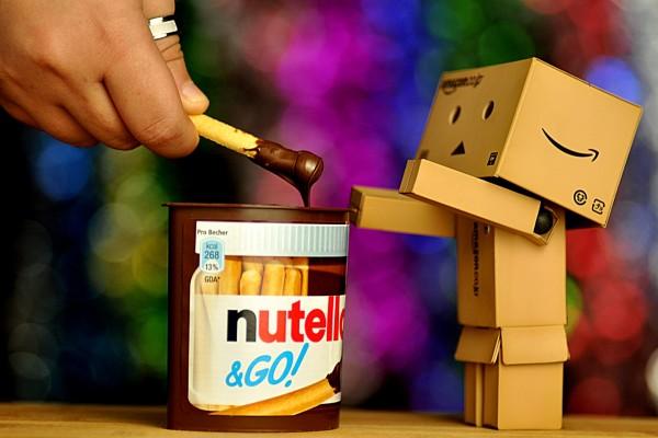 A Danbo le gusta la nutella