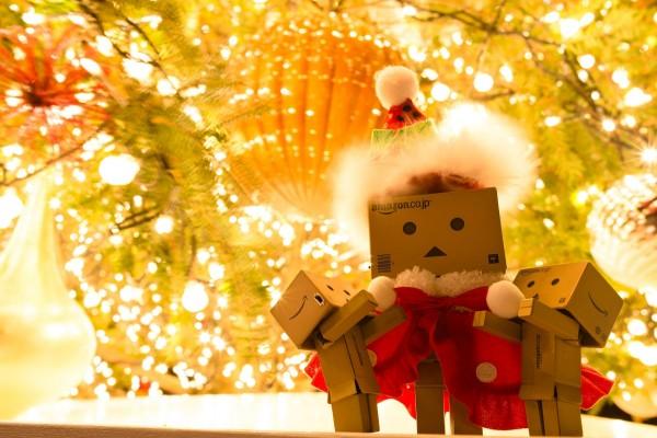 Santa Claus Danbo en Navidad