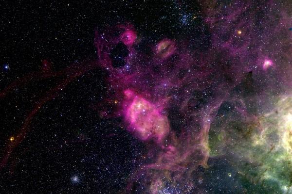 Nebulosas en el espacio