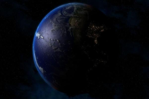 Oscuridad en La Tierra