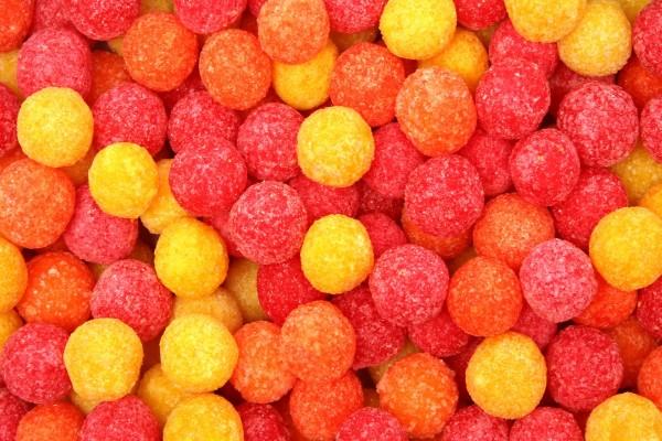 Bolas de caramelo