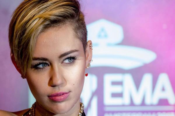 La mirada de Miley Cyrus