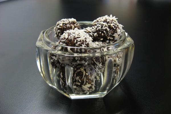 Bolas de avena y coco