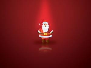 Postal: Santa Claus vuelve por Navidad