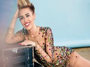 La cantante Miley Cyrus en 2014
