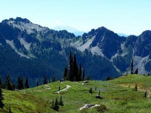 Caminata en las montañas
