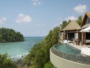 Postal: Relajante resort frente al mar