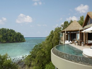 Relajante resort frente al mar