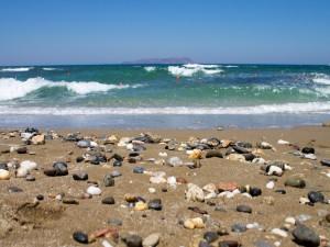 Guijarros en una playa
