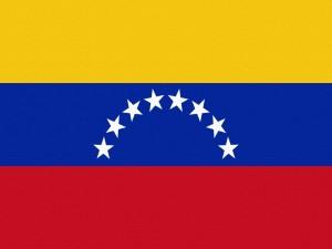 Postal: Bandera de Venezuela