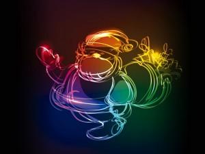 Papá Noel y sus regalos
