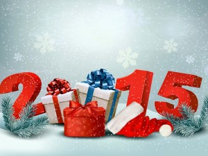 """Postal: Va llegando el """"Año Nuevo 2015"""""""