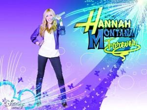 Cartel de Hannah Montana Forever