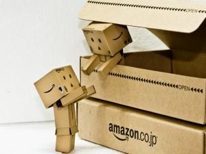 Postal: Un nuevo Danbo llega en una caja de amazon