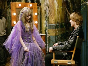 Escena de la serie Hannah Montana