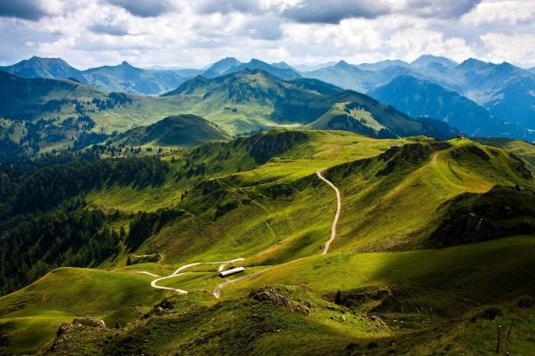 Montañas verdes