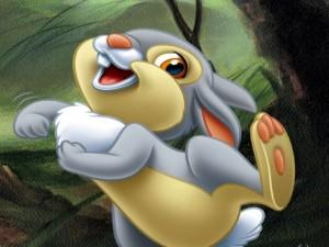 El conejo Tambor (Bambi)