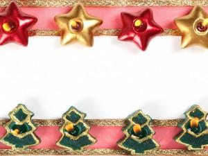 Marco con motivos navideños