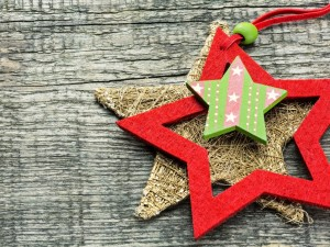 Estrellas para decorar en Navidad y Año Nuevo