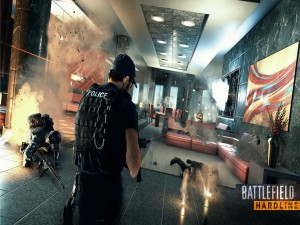 Escena del videojuego Battlefield Hardline