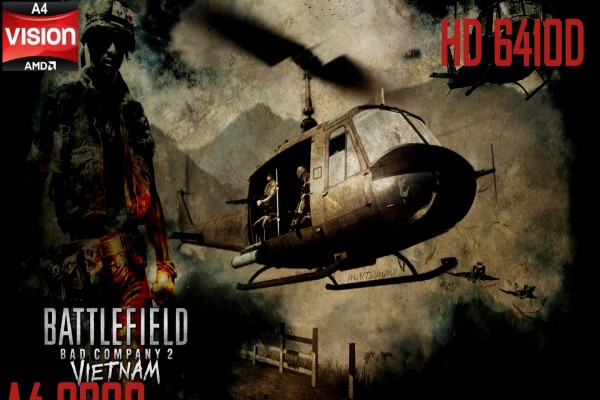 Cartel de la serie de videojuegos Battlefield (Bad Company 2, Vietnam)