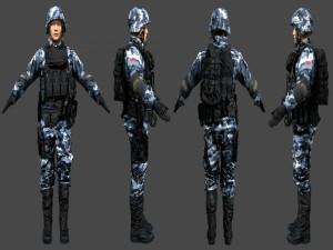Postal: Soldados chinos en Battlefield 4