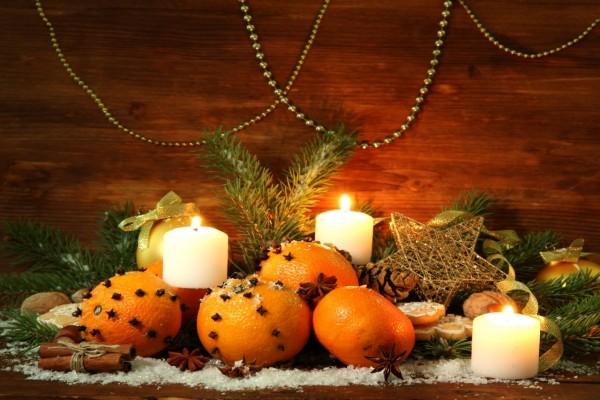 Adornos aromáticos para Navidad y Año Nuevo