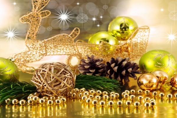 Elementos decorativos para la Navidad