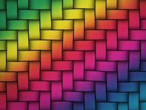 Trenzado de varios colores