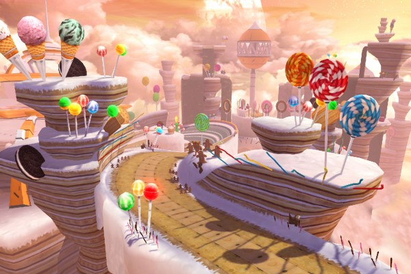 "Sweet Mountain, nivel de ""Sonic Colors"""