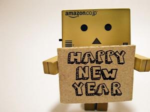 """Danbo deseando un """"Feliz Año Nuevo"""""""