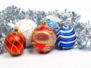 Bonitas bolas navideñas