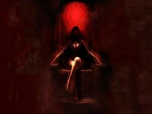 Postal: Reina del mal
