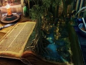 Postal: La magia de la imaginación