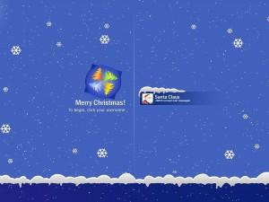 Postal: Navidad con Windows