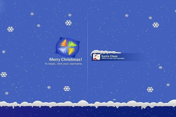 Navidad con Windows