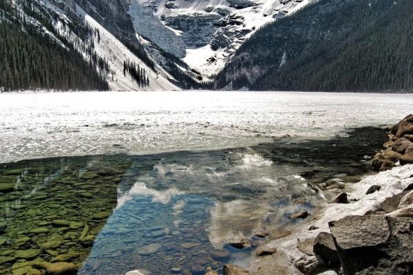Lago helado