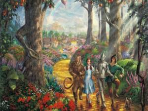 Escena del Mago de Oz