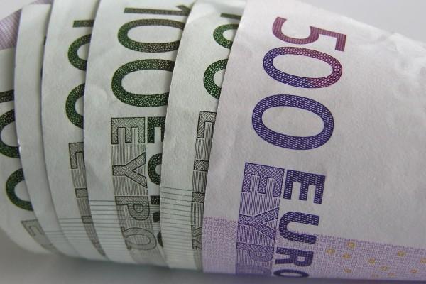 Billetes de 500 y 100 euros